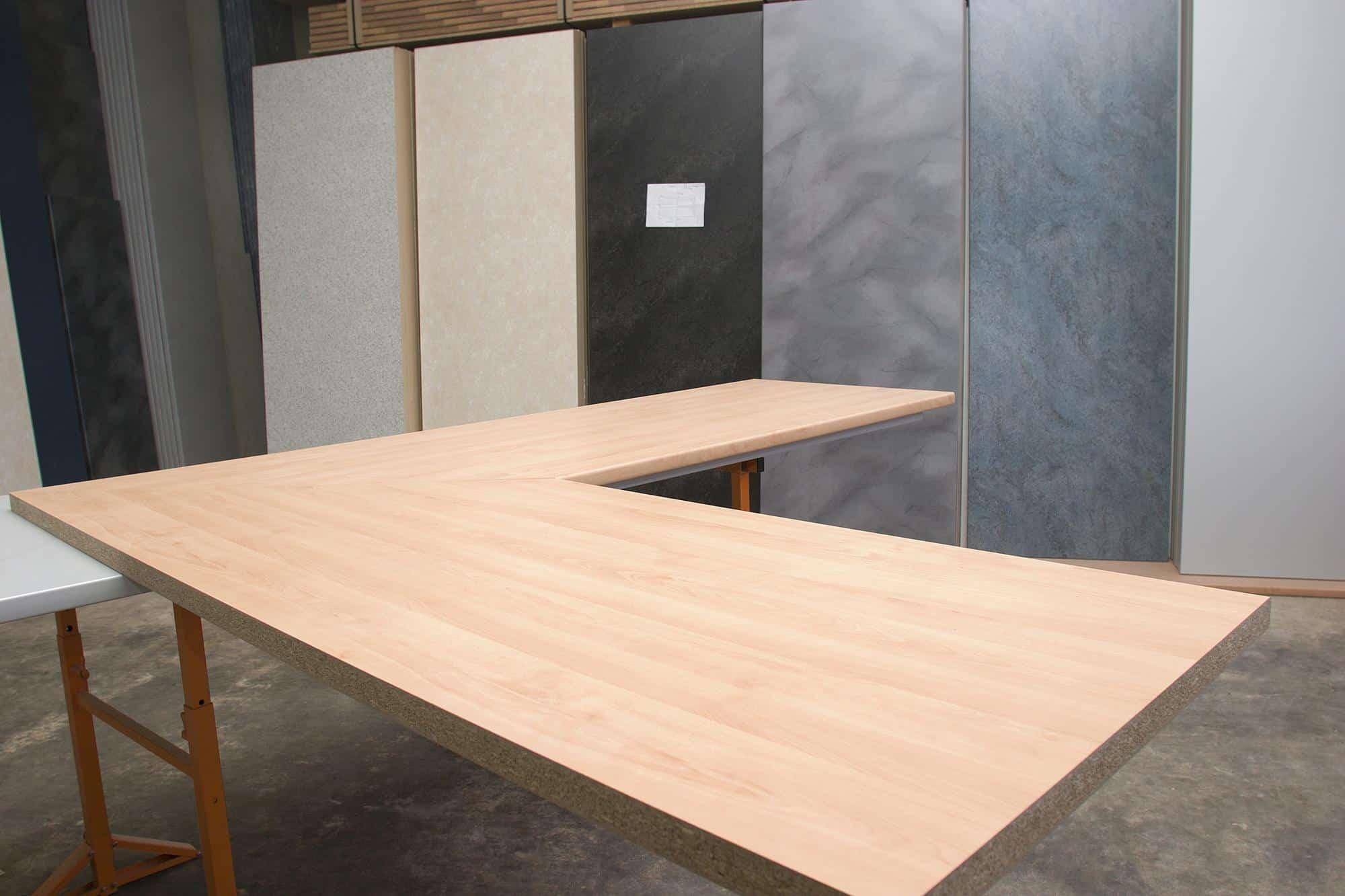 Schreibtischplatten arbeits platten paradies thomas for Schreibtischplatte buche