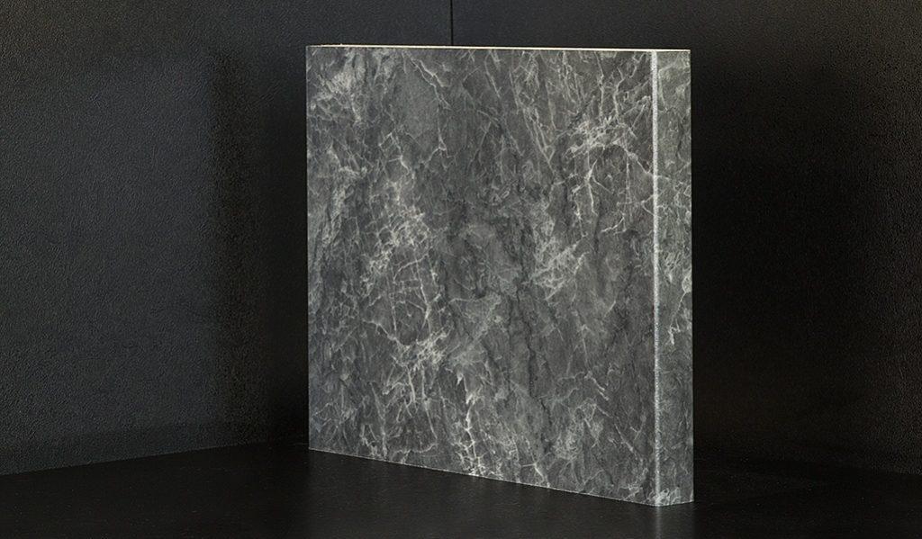 F4487 Bonito Marmor Schwarz 410x60cm + 410x90cm